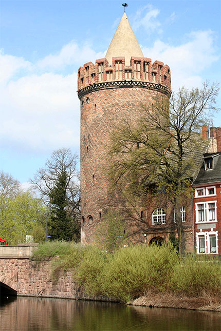 Der Steintorturm in der Steinstraße